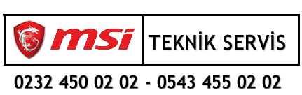 Msi Servis İzmir – 0 232 450 0202 – 0 543 455 0202